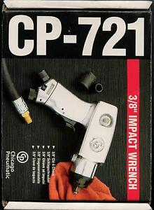 Chicago Pneumartic Cp721 3 8 Drive Heavy Duty Air Impact Wrench Made In Japan