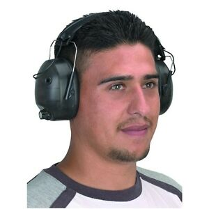 set Of 2 New 24 Nnr Noise Canceling Electronic Ear Muff Protector shooting