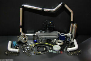 500hp Turbo Charger Kit Package Honda Jdm Civic Integra Fabrication 19 Pieces Tt