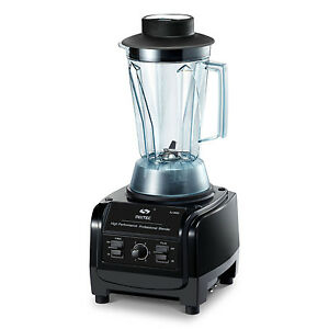 3hp Mixtec Heavy Duty Blender 64 Oz With Tamper Speed Up To 38 000rpm Msrp 499