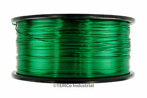 Temco Magnet Wire 40 Awg Gauge Enameled Copper 155c 1 5lb 47880ft Coil Green