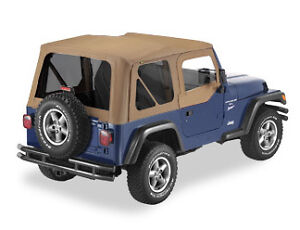 Jeep Wrangler Tj Spice Replacement Soft Top W Tinted Windows