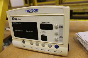 Welch Allyn Protocol Quik Signs 52000 Patient Monitor White