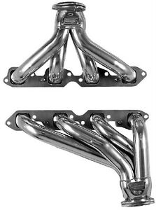 Big Block Chevy 62 67 Nova Blockhugger Black Coated Exhaust Headers Bbc