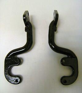 1930 1937 Ford Pickup Truck Cast Iron Tail Lamp Tail Light Brackets Pair