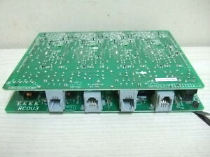 Toshiba Strata Ctx100 Phone System Rcou3 Co Line Card Circuit