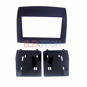 Radio Replacement Dash Mounting Install Kit Double Din For Toyota Sienna