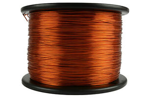 Temco Magnet Wire 18 Awg Gauge Enameled Copper 10lb 2000ft 200c Coil Winding
