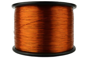 Temco Magnet Wire 24 Awg Gauge Enameled Copper 10lb 7905ft 200c Coil Winding