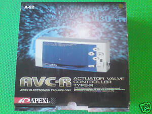 New Apexi Avc r Electronic Avcr Avc R Turbo Digital Boost Controller Kit