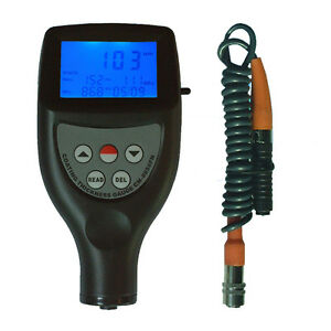 Cm 8856 Paint Meter Tester Coating Thickness Gauge Tester Range 0 1250 0 50mil