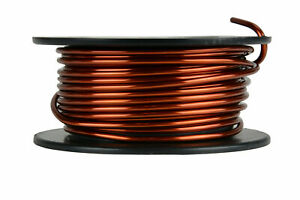 Temco Magnet Wire 10 Awg Gauge Enameled Copper 8oz 16ft 200c Coil Winding