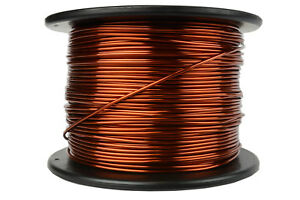 Temco Magnet Wire 12 Awg Gauge Enameled Copper 7 5lb 375ft 200c Coil Winding