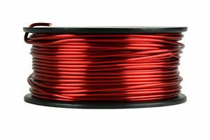 Temco Magnet Wire 13 Awg Gauge Enameled Copper 1 5lb 155c 95ft Coil Winding