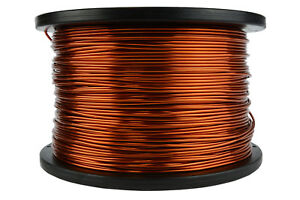Temco Magnet Wire 15 Awg Gauge Enameled Copper 5lb 500ft 200c Coil Winding
