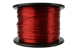 Temco Magnet Wire 16 Awg Gauge Enameled Copper 7 5lb 155c 937ft Coil Winding