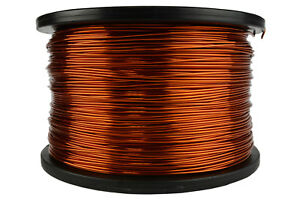 Temco Magnet Wire 17 Awg Gauge Enameled Copper 200c 5lb 789ft Coil Winding