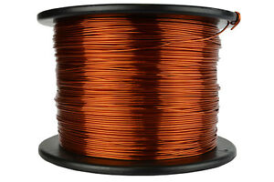 Temco Magnet Wire 17 Awg Gauge Enameled Copper 200c 7 5lb 1185ft Coil Winding