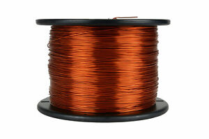 Temco Magnet Wire 18 Awg Gauge Enameled Copper 200c 7 5lb 1492ft Coil Winding