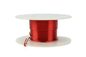 Temco Magnet Wire 21 Awg Gauge Enameled Copper 2oz 155c 49ft Coil Winding