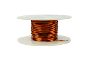 Temco Magnet Wire 21 Awg Gauge Enameled Copper 200c 2oz 49ft Coil Winding