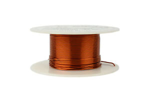 Temco Magnet Wire 21 Awg Gauge Enameled Copper 200c 4oz 98ft Coil Winding
