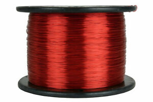 Temco Magnet Wire 24 Awg Gauge Enameled Copper 7 5lb 155c 5925ft Coil Winding