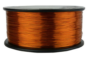 Temco Magnet Wire 25 Awg Gauge Enameled Copper 200c 1 5lb 1492ft Coil Winding