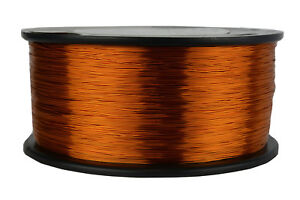 Temco Magnet Wire 28 Awg Gauge Enameled Copper 200c 1 5lb 2982ft Coil Winding