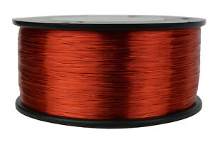 Temco Magnet Wire 30 Awg Gauge Enameled Copper 1 5lb 155c 4698ft Coil Winding