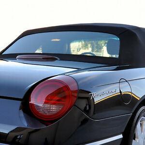 New Thunderbird Cloth Convertible Soft Top With Heated Glass Window 2000 2005
