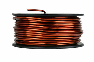 Temco Magnet Wire 10 Awg Gauge Enameled Copper 1 5lb 47ft 200c Coil Winding