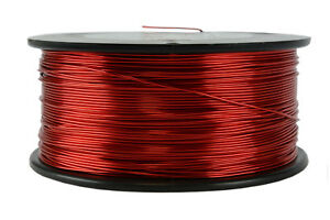 Temco Magnet Wire 20 Awg Gauge Enameled Copper 1 5lb 155c 471ft Coil Winding