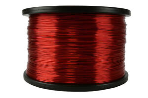 Temco Magnet Wire 22 Awg Gauge Enameled Copper 5lb 155c 2507ft Coil Winding