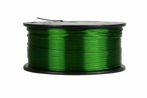 Temco Magnet Wire 22 Awg Gauge Enameled Copper 155c 1 5lb 751ft Coil Green
