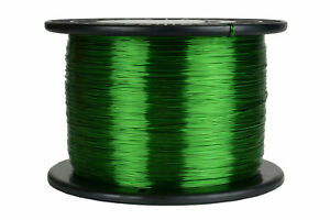 Temco Magnet Wire 24 Awg Gauge Enameled Copper 155c 7 5lb 5925ft Coil Green