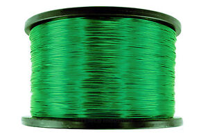 Temco Magnet Wire 24 Awg Gauge Enameled Copper 155c 5lb 3950ft Coil Green