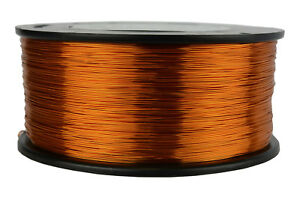 Temco Magnet Wire 26 Awg Gauge Enameled Copper 200c 1 5lb 1887ft Coil Winding