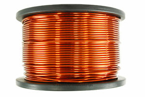 Temco Magnet Wire 8 Awg Gauge Enameled Copper 5lb 100ft 200c Coil Winding