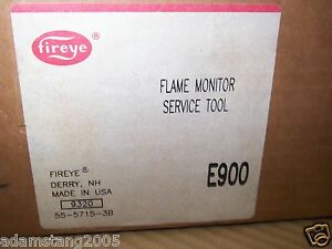 New Other Fireye E900 Service Tool For Use W The Flame Monitor Systems