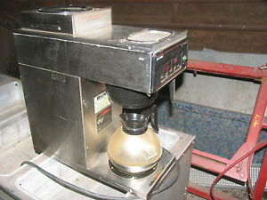 Bunn Vp 17 Commercial Coffee Brewer Warmer Maker Commercial Restauraunt