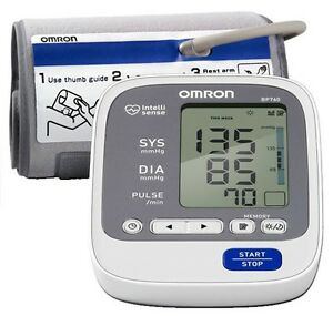 Omron 7 Series Digital Blood Pressure Unit Bp 760n