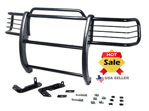 Fits 01 12 Ford Ranger Edge Mazda B Series Bumper Grille Grill Guard In Black