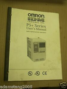 Omron P5 Series User Manual For Ac Frequency Drive 744