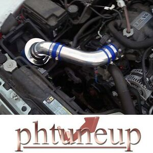 Blue 2007 2011 Jeep Wrangler Rubicon Sahara 3 8 3 8l Air Intake Kit Filter