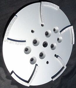 2pk 10 mk Diamond Edco Blastrac Concrete Grinder 10 Seg Diamond Disc Plate best