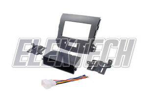 Radio Replacement Dash Mount Kit 2 Din W Harness For Mitsubishi Outlander