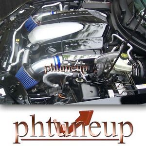 Blue 2004 2008 Chrysler Crossfire 3 2 3 2l Dual Twin Air Intake Kit Systems