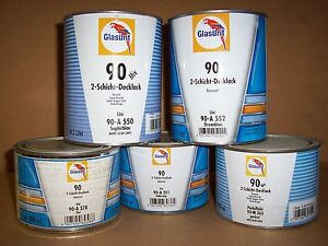 Glasurit 90 a 552 90 Line Colour 1 Litre Basf Tinter