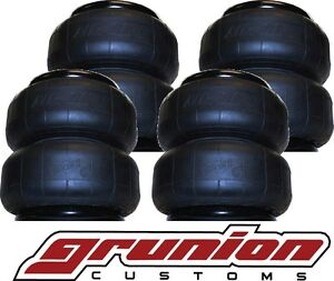 4 Air Lift D2600 Suspension Air Bags Springs Dominator Airlift 1 2 Inch Port